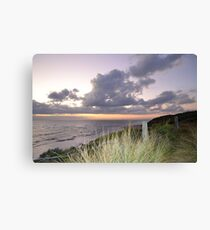 look out sunset  Canvas Print