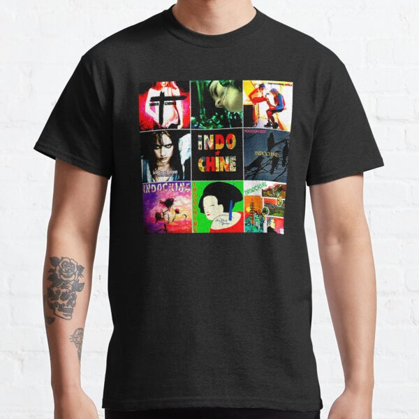 Best Of Seller Logo Musique Indochine Band de Wilatikta T-shirt classique
