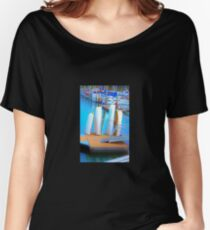 Boats in Surrealism Women's Relaxed Fit T-Shirt