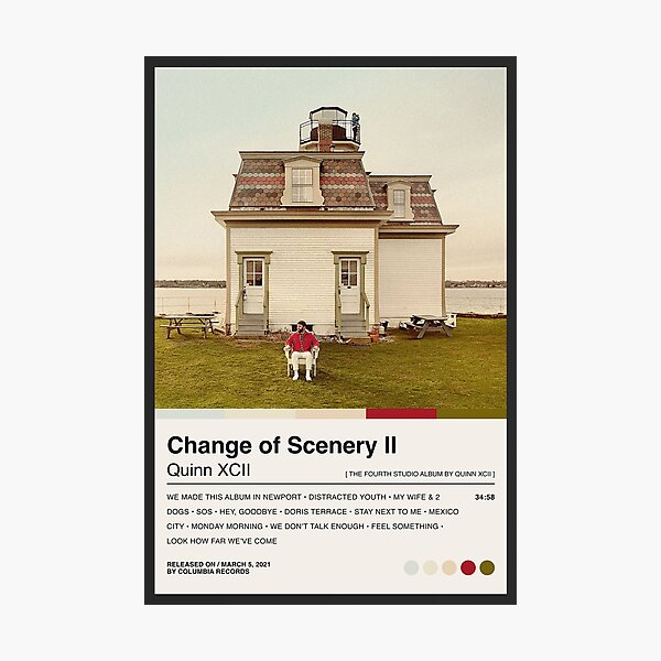 Quinn XCII - Change Of Scenery Photographic Print