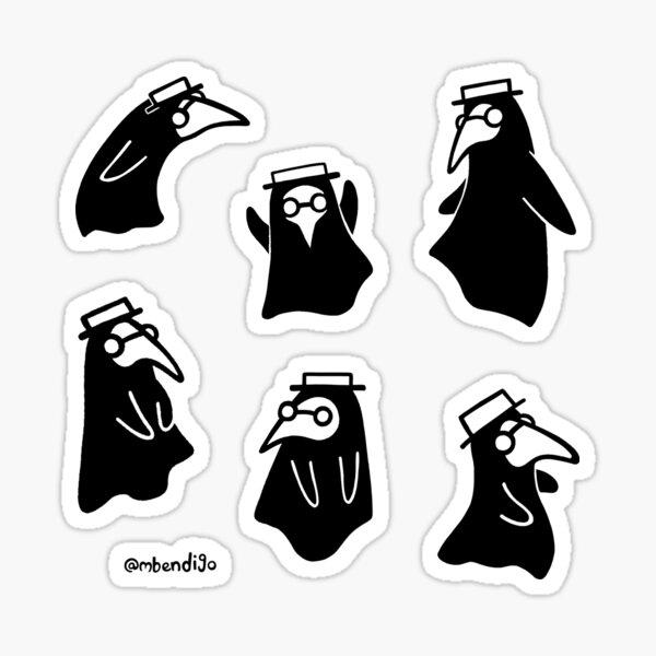 Plague Doctors Sticker