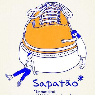 Sapatão by moscasdecolores