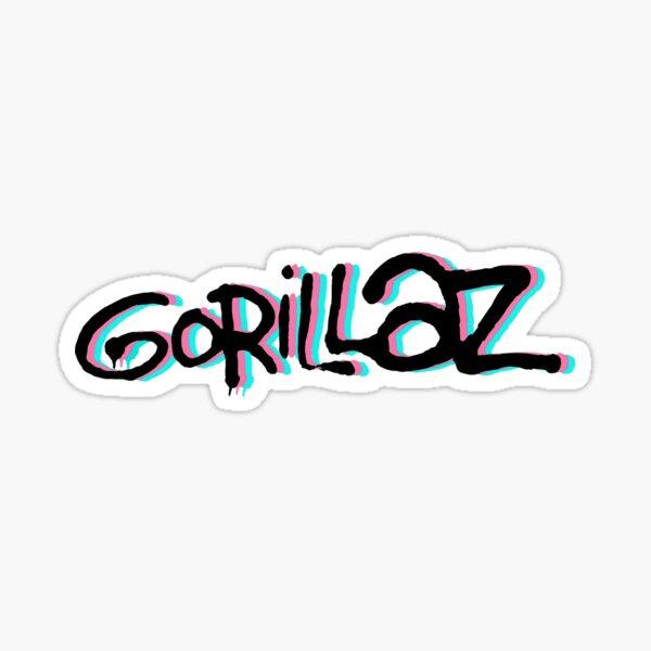 Logo Gorillaz Sticker