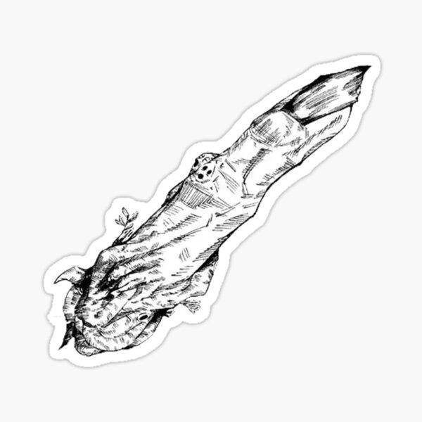Sukuna Finger Stickers | Redbubble
