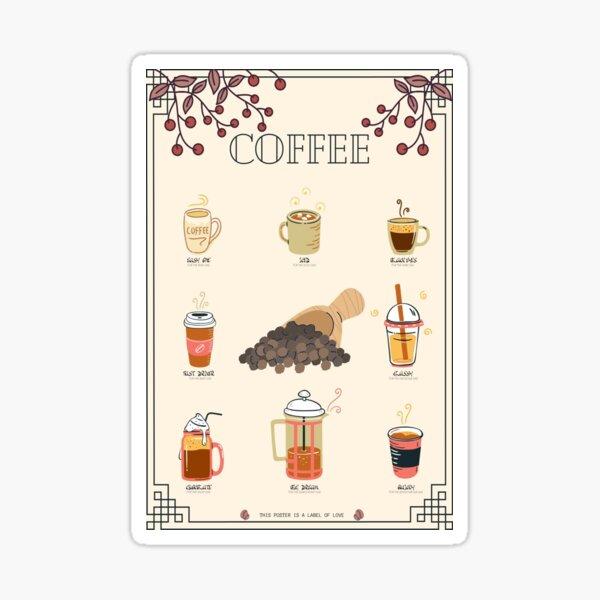 COFFEE - love Sticker