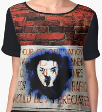 Your co-operation in keeping the laneway clear at all times for through traffic would be appreciated. Women's Chiffon Top