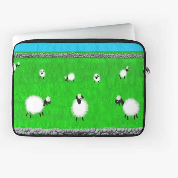 Sheep in the meadow  Laptop Sleeve