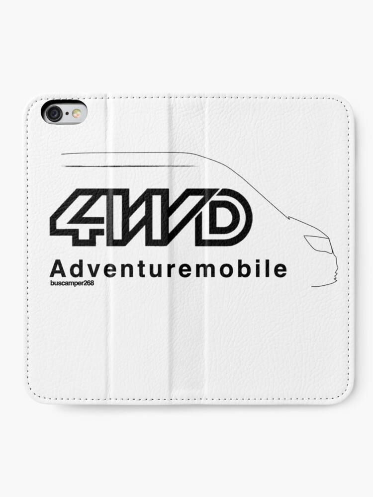 Alternate view of buscamper adventure mobile iPhone Wallet