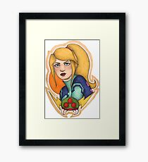 Samus: the Bounty Hunter Framed Print