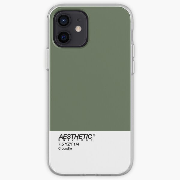 AESTHETIC UNIVERSE CROCODILE iPhone Soft Case