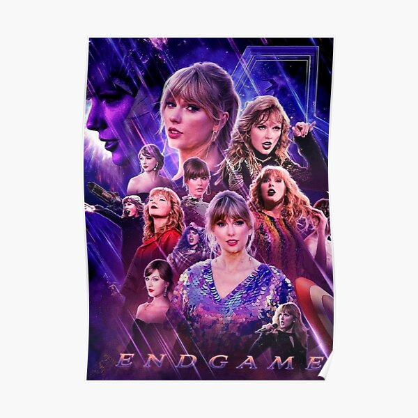 taylor's end game Póster