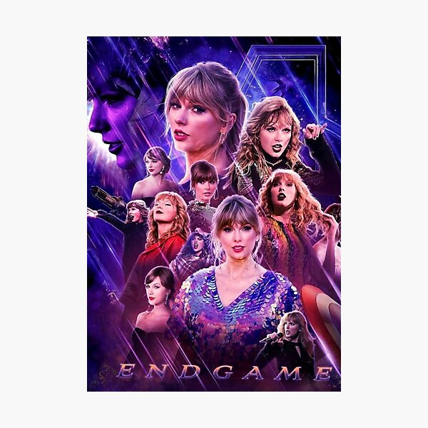 taylor's end game Photographic Print