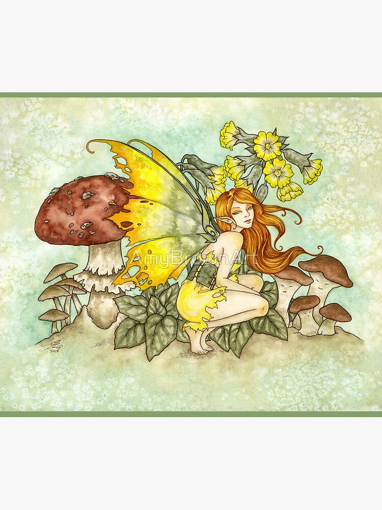 Cowslips by AmyBrownArt