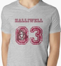 Halliwell Jersey Men's V-Neck T-Shirt