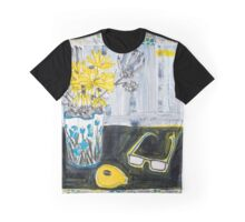 flowers and fabric 4 Graphic T-Shirt
