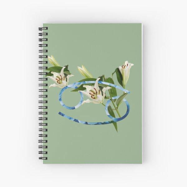 Cancer Flower Spiral Notebook