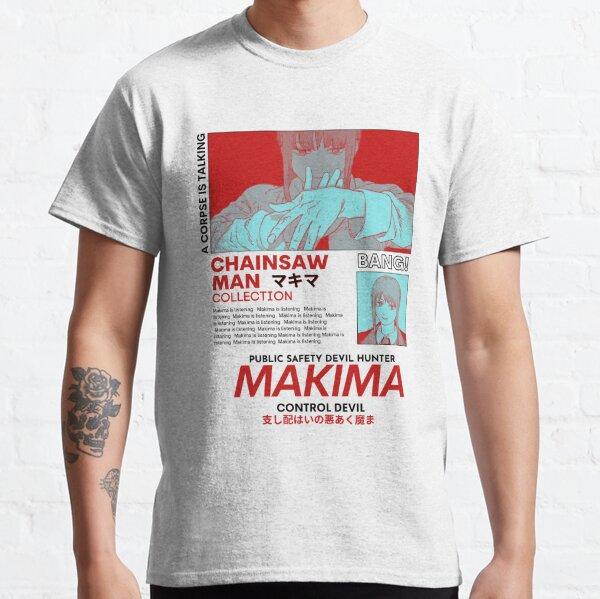 Makima Red - Homme à la tronçonneuse T-shirt classique