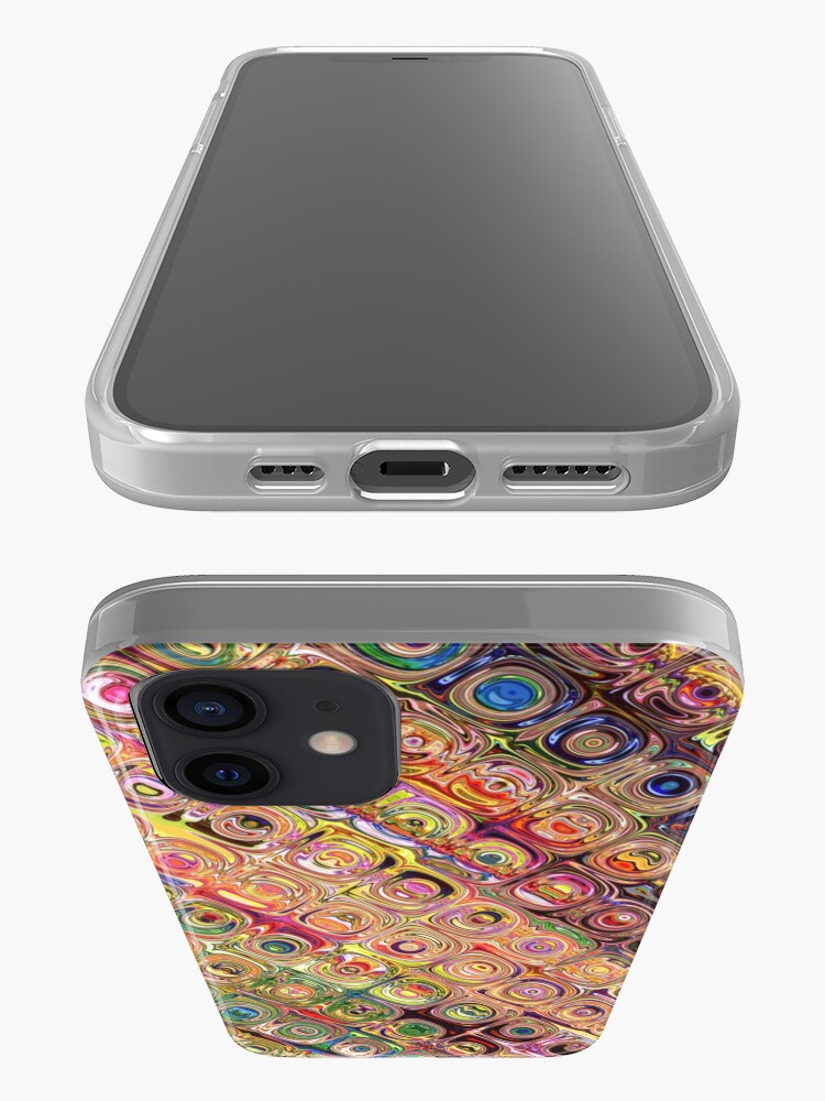 Alternate view of Spectral Glass Beads iPhone Case & Cover