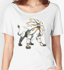 POKEMON SUN AND MOON - SOLGALEO Women's Relaxed Fit T-Shirt
