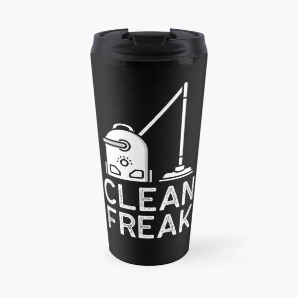 Clean Freak - I Love Cleaning Travel Mug