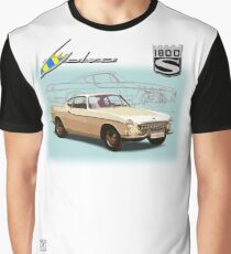 Volvo P1800S Coupe Graphic T-Shirt