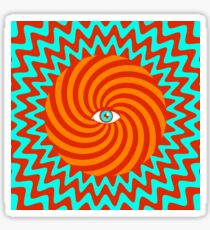 Hypnotic poster Sticker