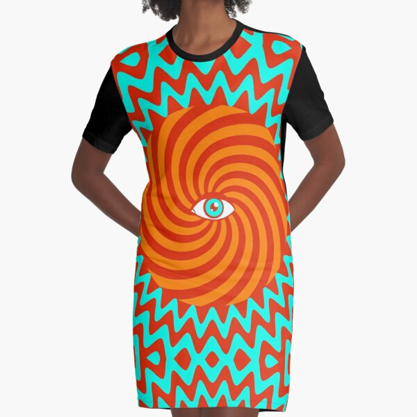 Hypnotic poster Graphic T-Shirt Dress