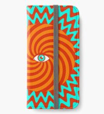 Hypnotic poster iPhone Wallet/Case/Skin