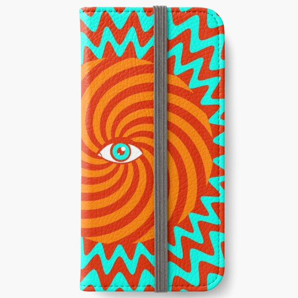 Hypnotic poster iPhone Wallet