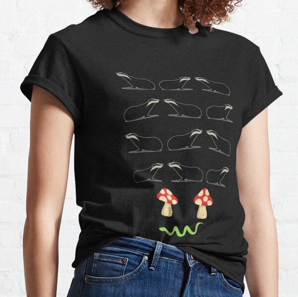 Early Meme History - Dark Background Classic T-Shirt