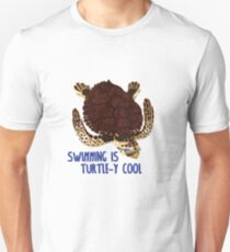 Swimming is Turtle-y Cool! T-Shirt