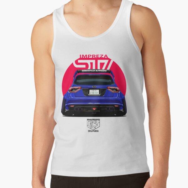 BLUE Impreza WRX STI Tank Top