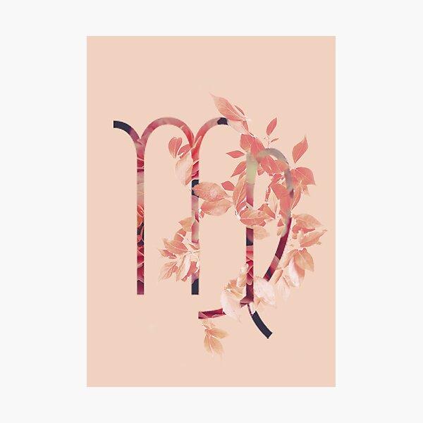 Virgo Flower Photographic Print