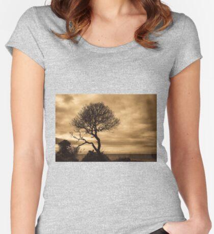 Horizon Women's Fitted Scoop T-Shirt