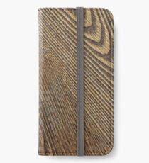 Wood iPhone Wallet