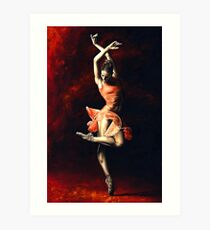The Passion of Dance Art Print