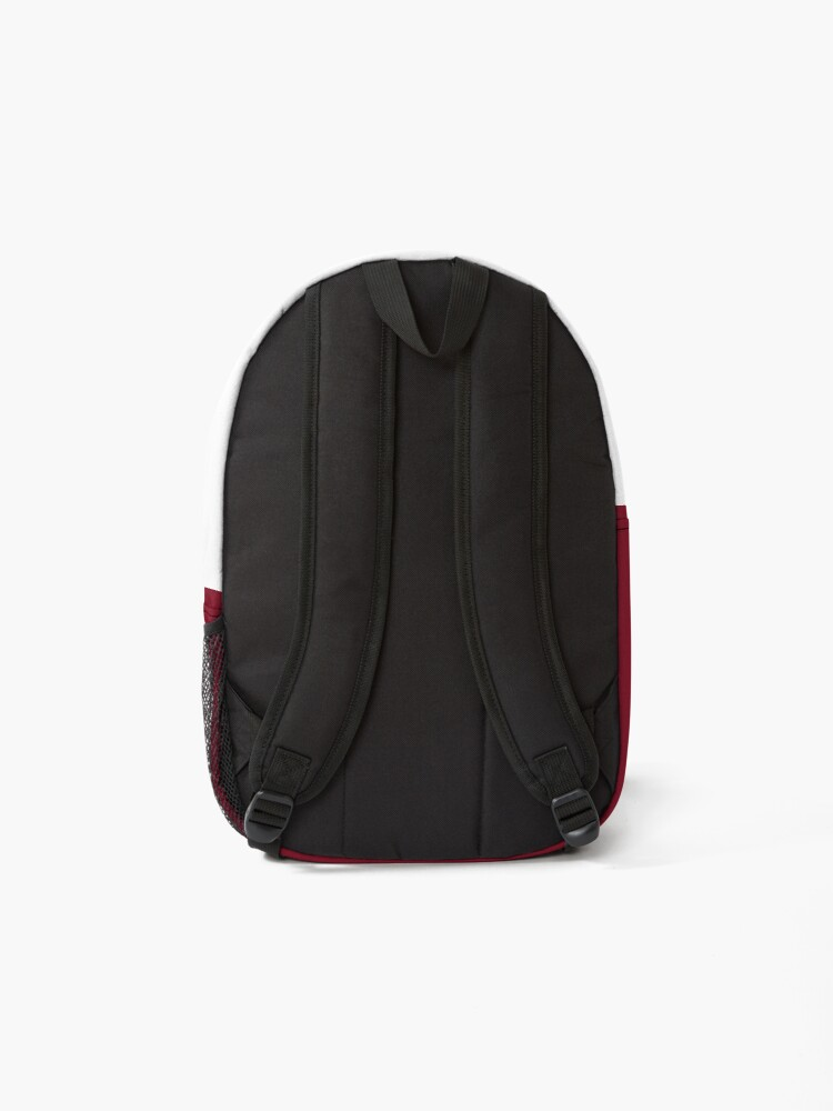 Alternate view of shhh be quiet I'm training v1 - GOLD font Backpack