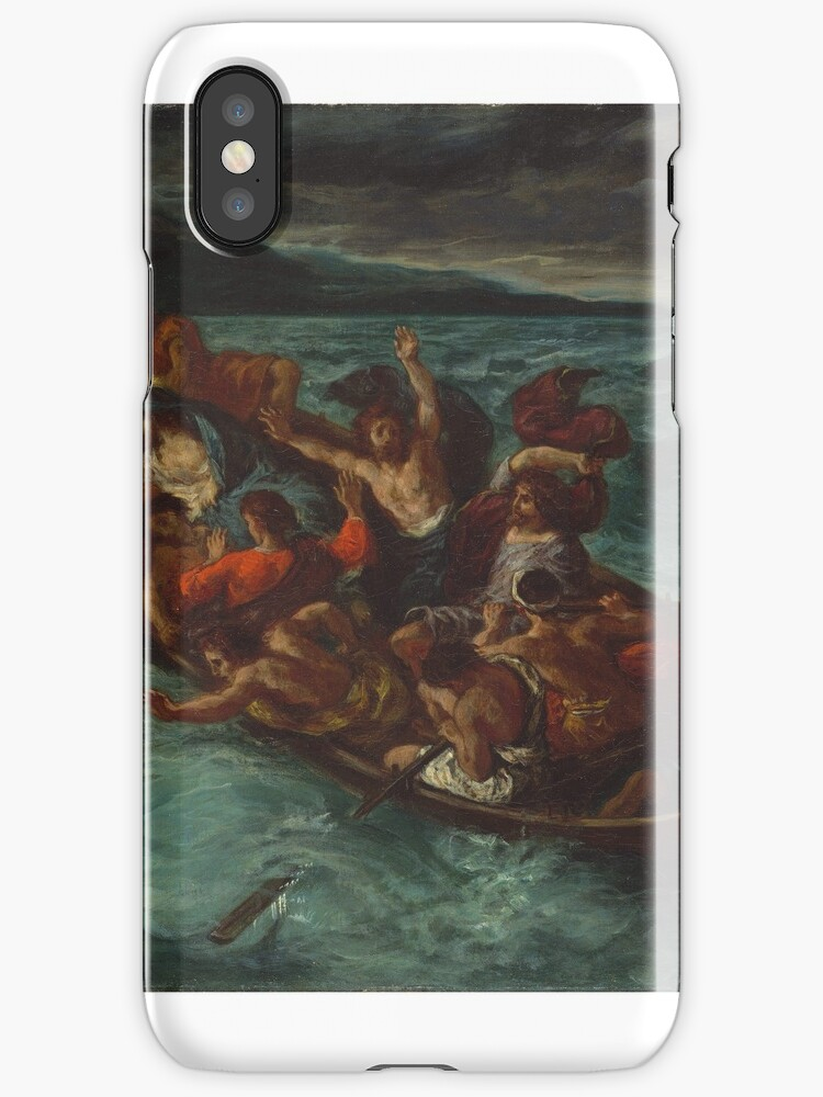 Christ Asleep during the Tempest ,  Eugène Delacroix by MotionAge Media