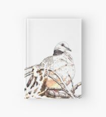 Spotted Turtledove Hardcover Journal