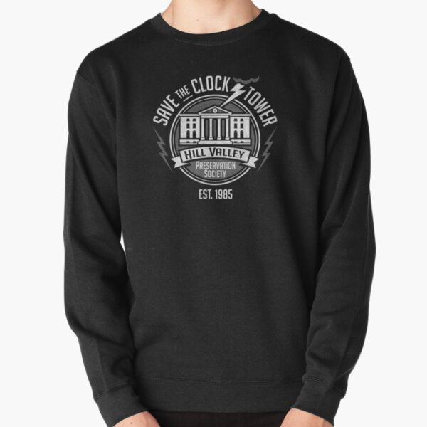 Save The Clock Tower  Pullover Sweatshirt
