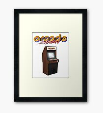 Arcade Summer Framed Print