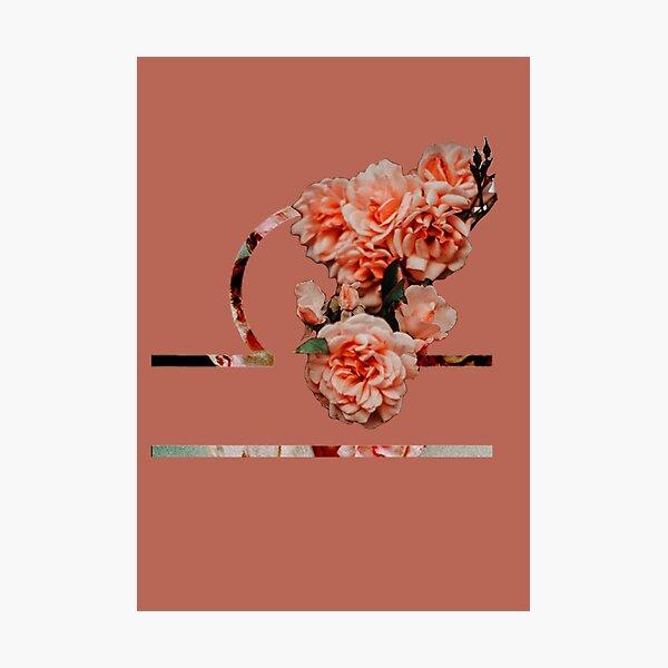 Libra Flower Photographic Print