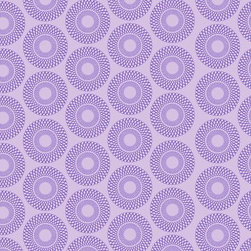 Lilac Weave Repeat by CasabiDesigns
