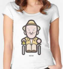 Breaking Bad Icon Set - HECTOR SALAMANCA Women's Fitted Scoop T-Shirt