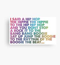 I said a Hip Hop Metal Print