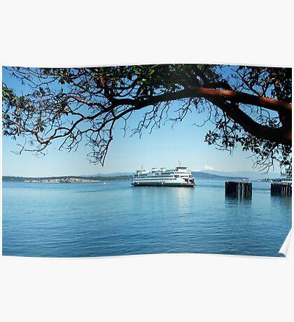 Anacortes ~ San Juan Island Ferry Poster