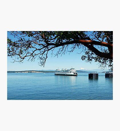 Anacortes ~ San Juan Island Ferry Photographic Print