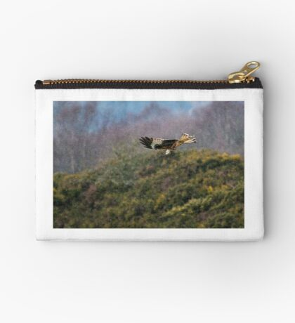 Red Kite in hale storm Studio Pouch