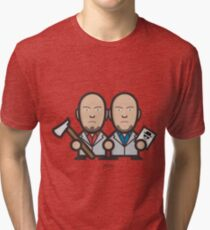 Breaking Bad Icon Set - MARCO&LIONEL Tri-blend T-Shirt