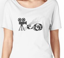 Film strip and film camera Women's Relaxed Fit T-Shirt